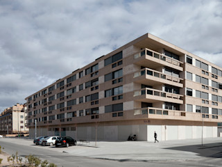Guindalera Residential Building Ignacio Quemada Arquitectos Casas modernas