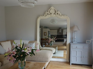 Do you have space for an XLarge mirror? Mirrors by Ottilie Living roomAccessories & decoration Kayu White