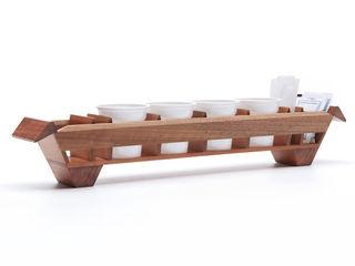 Volatile   Wooden tray for espresso cups Vitruvio Design ComedorAccesorios y decoración Madera Acabado en madera