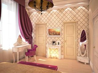 Solo Design Studio Classic style bedroom Purple/Violet