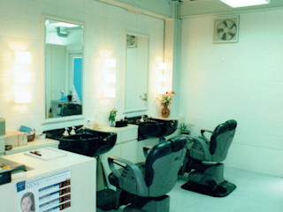 福井建築設計室 Oficinas y tiendas de estilo moderno Porcelana Blanco
