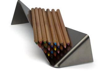 Sheet   pencil holder Vitruvio Design EstudioAlmacenamiento Hierro/Acero Metálico/Plateado