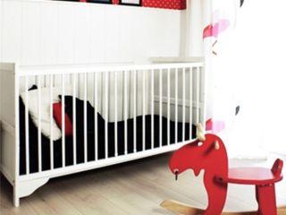 Dom jednorodzinny II, Maszewo. Sałata-Pracownia Architektury Wnętrz Skandynawski pokój dziecięcy