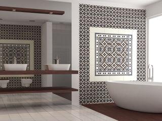 CERAMICHE MUSA Nowoczesna łazienka Ceramiczny Biały