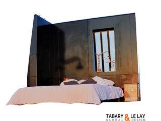 The LOGGO wall Frédéric TABARY Навчання/офісСтоли Метал Чорний