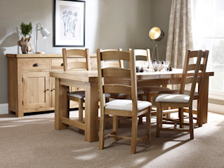 Fairford Dining by Corndell Corndell Quality Furniture Dining roomTables Wood