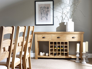 Fairford Dining by Corndell Corndell Quality Furniture Dining roomWine racks Solid Wood