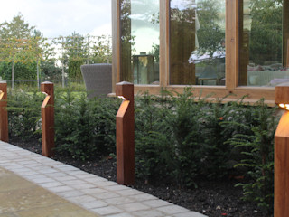 Rural Views Bestall & Co Landscape Design Ltd Modern Garden
