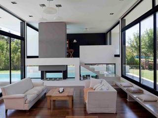 Remy Arquitectos Гостиная в стиле модерн