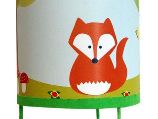 Luminaire enfant thème les animaux NOTHING TOULOUSE Chambre d'enfantsEclairage Papier Vert