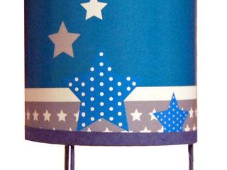 Luminaire enfant thème les hiboux NOTHING TOULOUSE Chambre d'enfantsEclairage Papier Bleu
