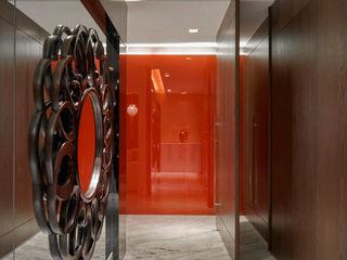 Isabela Canaan Arquitetos e Associados Modern Corridor, Hallway and Staircase