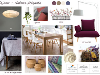 EN COURS - Appartement familial - 108m2 Vincennes Espaces à Rêver Salle à manger moderne Beige