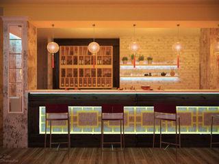 Студия интерьерного дизайна happy.design Gastronomy