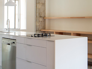 Cocina abierta osb arquitectos Cocinas modernas