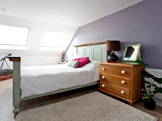 London Hip To Gable Loft Conversion and Extension A1 Lofts and Extensions Moderne Schlafzimmer