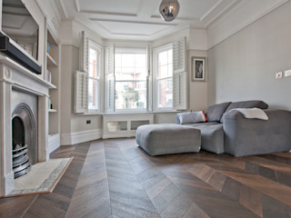 Richmond Full House Refurbishment A1 Lofts and Extensions Salones minimalistas