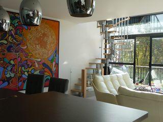 Duplex Parc de Bercy AADD+ Salle à manger moderne