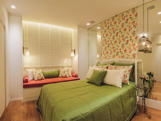 Rosangela C Brandão Interiores Klasik Yatak Odası
