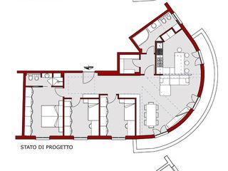 CASA D&F Andrea Orioli Studio moderno
