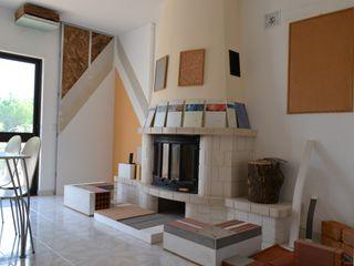 Showroom RenoBuild Algarve 에클레틱 거실