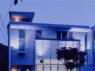 有限会社加々美明建築設計室 現代房屋設計點子、靈感 & 圖片 陶器 White