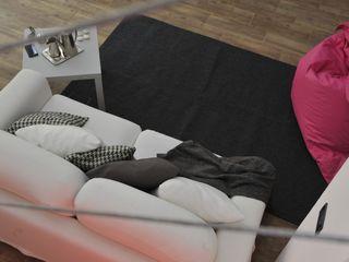 Home Staging in Fashion Loft nel centro di Milano Gabriella Sala Design Soggiorno minimalista