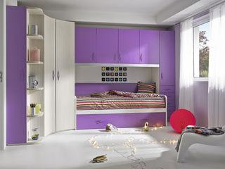 Base.3 MUEBLES ORTS DormitoriosCamas y cabeceros Aglomerado Morado/Violeta