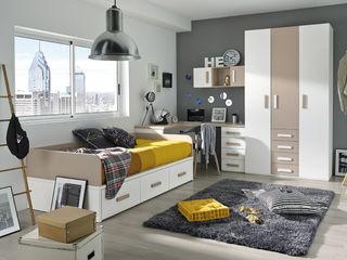 Base.3 MUEBLES ORTS DormitoriosCamas y cabeceros Aglomerado Marrón