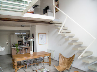 MeMo arquitectas Scandinavian style dining room