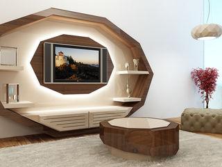 relax mobiliário e decoração Living roomShelves Engineered Wood