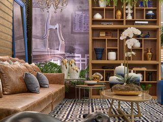 Lider Interiores Salones de estilo moderno
