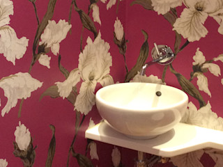bilune studio Eclectic style bathroom