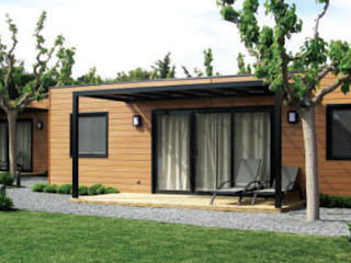 BS Ingeniería Country style houses Wood Brown