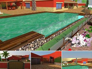BS Ingeniería Mediterranean style houses Wood Beige