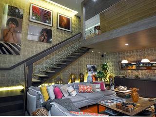 Spengler Decor Pasillos, vestíbulos y escaleras modernos