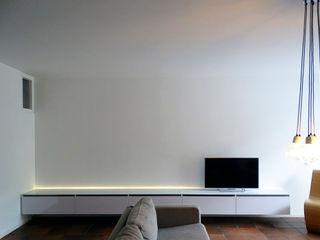 Modulair TV meubel Nick Ronde Ontwerpen WoonkamerTV- & mediameubels Wit
