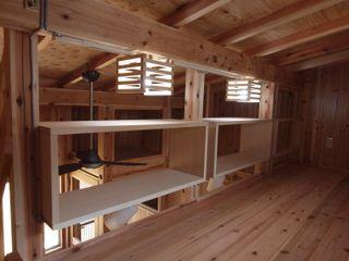 筒井公一建築研究室一級建築士事務所 minimalist style media rooms