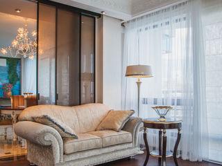 апартаменты в Ялте Дорогой Дом Гостиная в классическом стиле