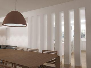 Lomas de La Alameda RRA Arquitectura Comedores de estilo minimalista