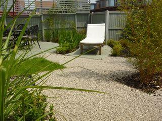 Canopy Lane Aralia Сад в стиле минимализм Камень Бежевый