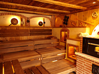 Erdmann Exklusive Saunen Spa rústico