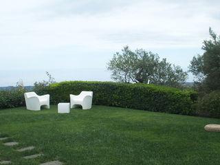 SPAZIO AV ARCHITETTURA VERDE AMBIENTE ARTE Сад в средиземноморском стиле