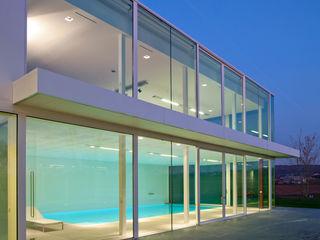 Le Cube Blanc Luc Spits Architecture Maisons modernes
