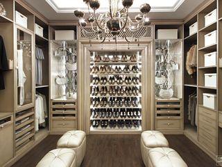 Дизайн-бюро Сергея Саргина Closets modernos