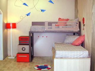 Litera cruzada con compacto Alábega Habitaciones infantilesCamas y cunas