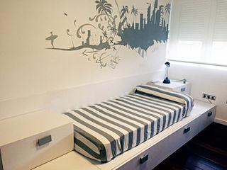 Dormitorio Beach Alábega Habitaciones infantilesCamas y cunas Blanco