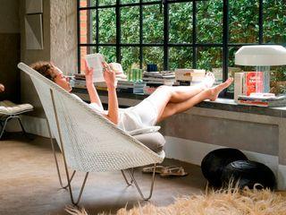 Lloyd Loom Furniture Viva Lagoon Ltd 客廳沙發與扶手椅 天然纖維 Grey