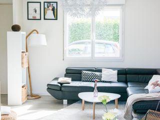 E/P ESPACE DESIGN - Emilie Peyrille Living roomSofas & armchairs