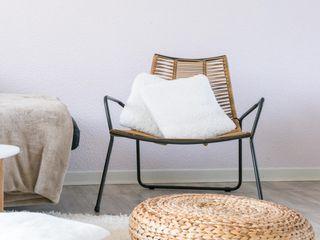 E/P ESPACE DESIGN - Emilie Peyrille Living roomAccessories & decoration Wood Beige